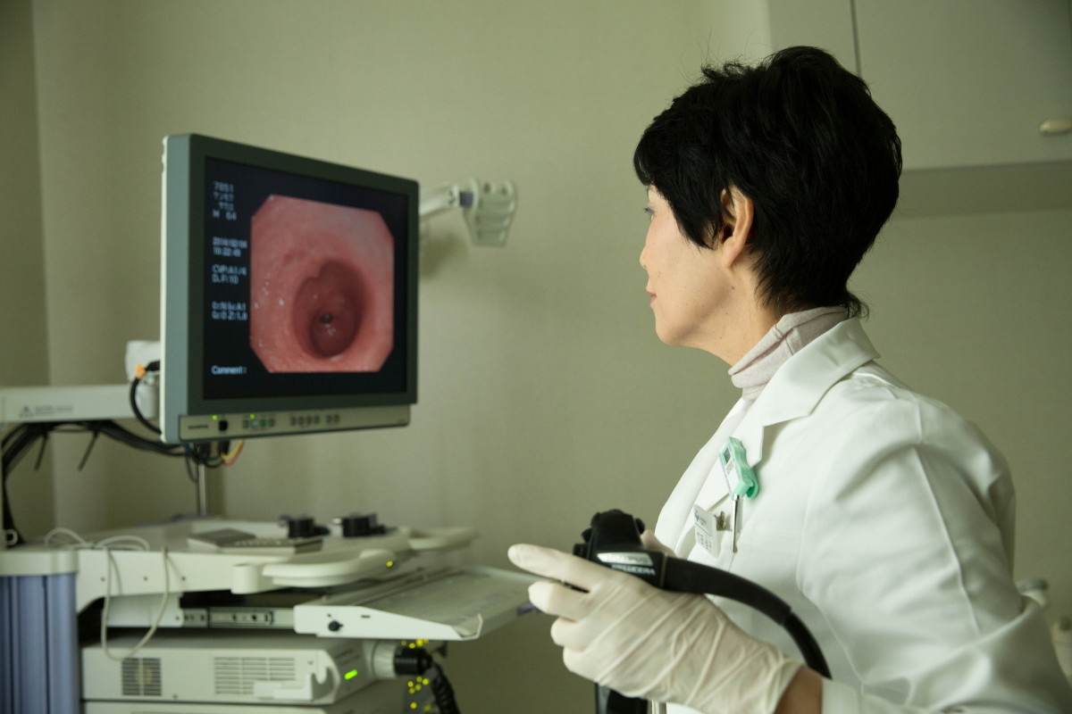 佳子先生の内視鏡検査